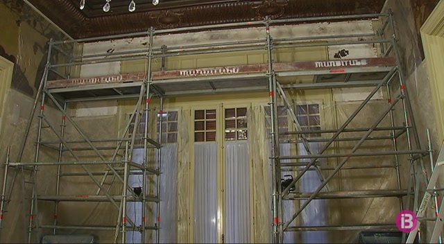 El+Parlament+restaura+les+pintures+de+Roberto+Montenegro