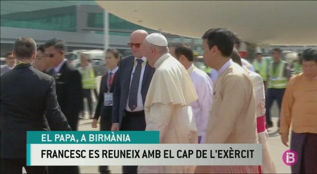 El+Papa+arriba+a+Birm%C3%A0nia+enmig+de+la+crisi+dels+rohiny%C3%A0s