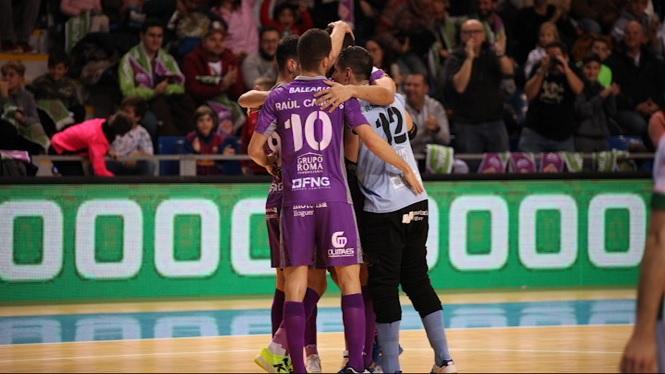 El+Palma+Futsal+rebr%C3%A0+el+Santa+Coloma+en+el+darrer+partit+a+Son+Moix+abans+de+les+vacances