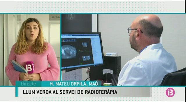 El+servei+de+radioter%C3%A0pia+del+Mateu+Orfila+entrar%C3%A0+en+funcionament+la+setmana+vinent