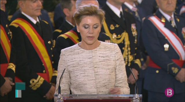 Felip+VI+ha+presidit+la+tradicional+celebraci%C3%B3+de+la+Pasqua+Militar+a+Madrid