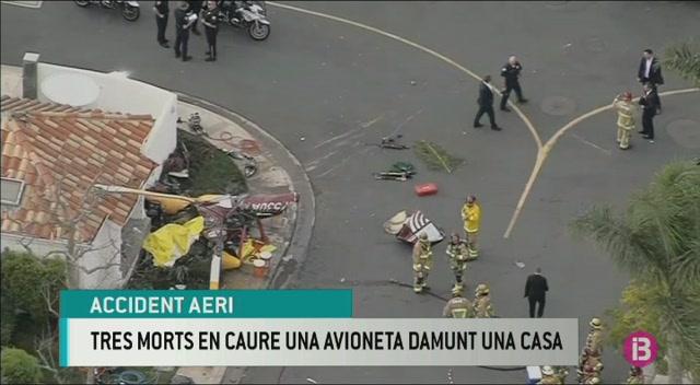 Moren+tres+persones+en+un+accident+d%27avioneta+a+Calif%C3%B2rnia