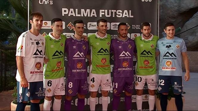 El+Palma+Futsal+jugar%C3%A0+aquesta+temporada+de+verd+i+lila