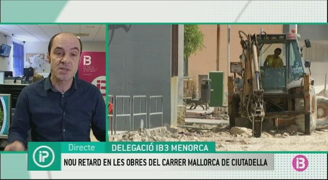 Un+nou+retard+posposa+el+final+de+les+obres+al+carrer+Mallorca+de+Ciutadella+fins+al+20+de+mar%C3%A7