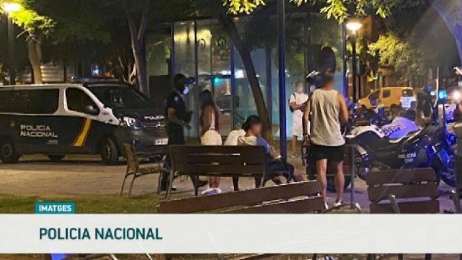 La+policia+aixeca+253+actes+per+botellot+a+Palma