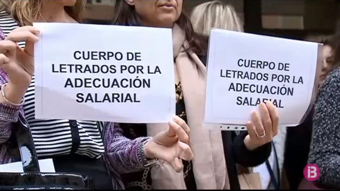 Protesta de la classe judicial per la manca de recursos econòmics i tècnics de l'Administració