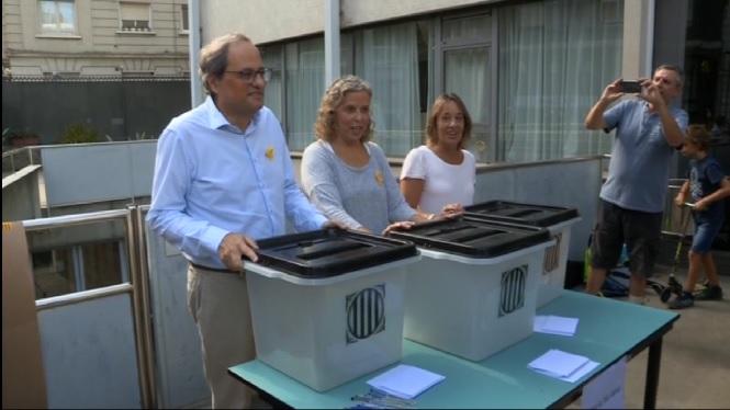 El+govern+de+Catalunya+nega+les+c%C3%A0rregues+dels+mossos+d%27Esquadra+contra+els+independentistes