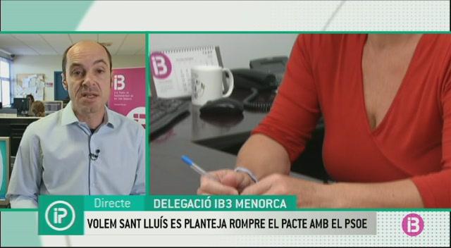 Volem+Sant+Llu%C3%ADs+es+planteja+rompre+el+pacte+de+govern+amb+el+PSOE