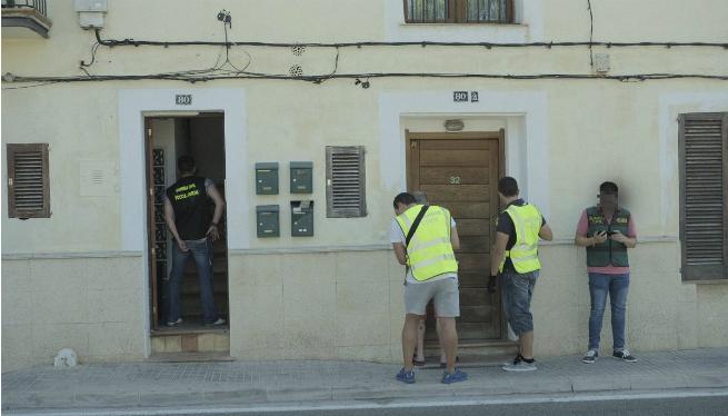 Almenys+vuit+detinguts+en+una+operaci%C3%B3+contra+el+tr%C3%A0fic+de+drogues+a+Mallorca