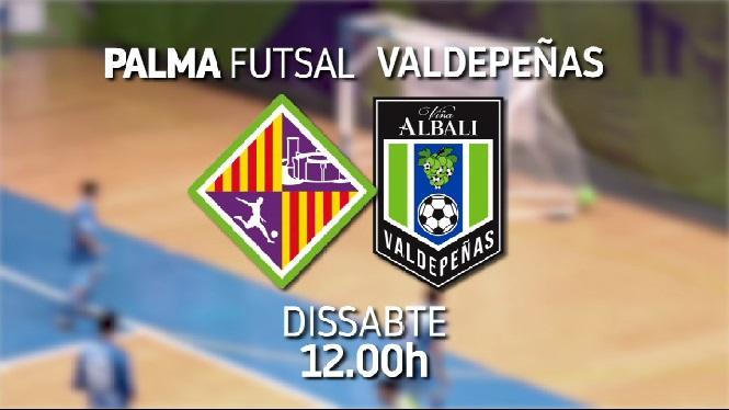 El+Palma+Futsal+rep+el+Valdepe%C3%B1as+a+Son+Moix