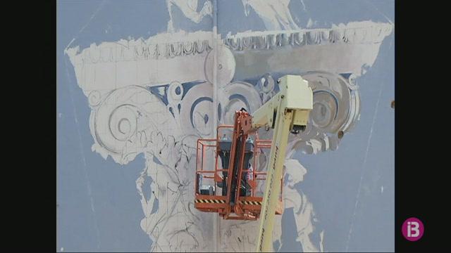 La+UIB+celebra+40+anys+amb+un+mural+de+l%27artista+Javier+Garl%C3%B3