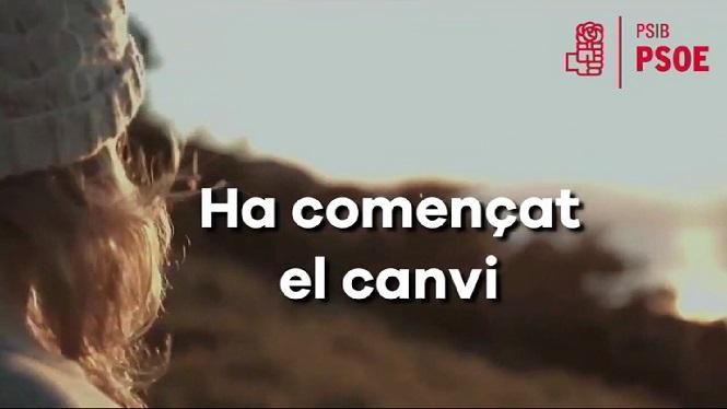 El+PSIB-PSOE+penja+un+v%C3%ADdeo+per+celebrar+l%27arribada+de+Pedro+S%C3%A1nchez+a+Moncloa