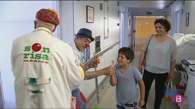 Els+pallassos+de+Sonrisa+M%C3%A9dica+visitaran+els+infants+de+l%27Hospital+Mateu+Orfila