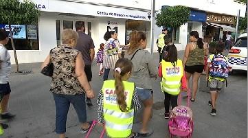 Eivissa+promou+rutes+guiades+per+als+infants+que+van+a+l%27escola+a+peu