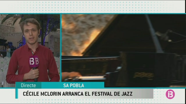 Comen%C3%A7a+el+24%C3%A8+Festival+Mallorca+Jazz+de+Sa+Pobla+amb+C%C3%A9cile+McLorin+Salvan