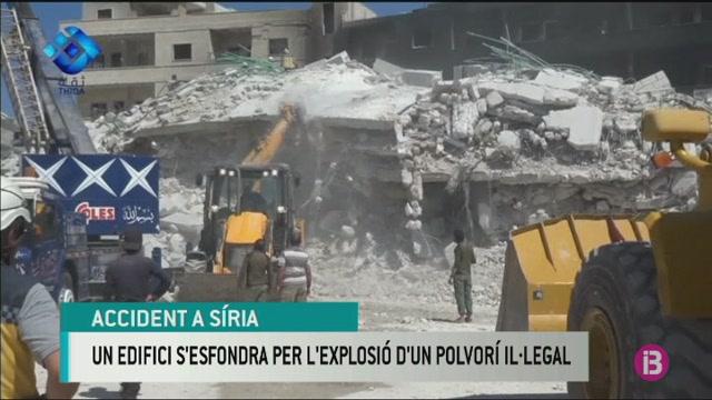 Moren+69+persones+per+una+explosi%C3%B3+accidental+en+un+edifici+a+S%C3%ADria