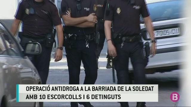 Sis+detinguts+en+una+operaci%C3%B3+antidroga+a+la+Soledat+contra+el+clan+del+Pablo