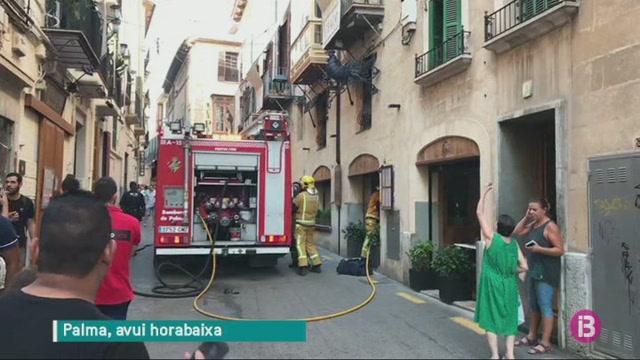 Un+incendi+crema+la+cuina+d%27un+restaurant+del+centre+de+Palma