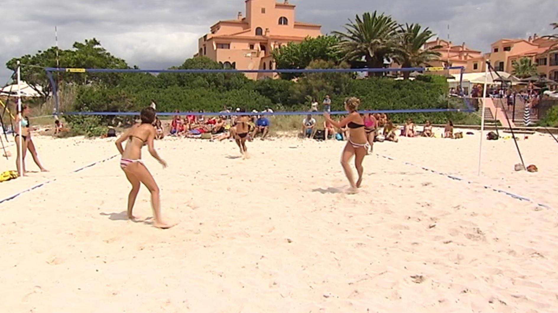S%27ajorna+el+Menorca+Open+de+v%C3%B2lei+platja