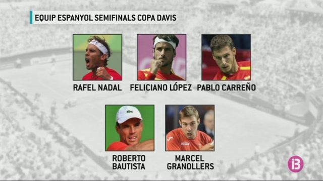Rafel+Nadal+liderar%C3%A0+l%27equip+espanyol+a+la+semifinal+de+la+Davis+contra+Fran%C3%A7a