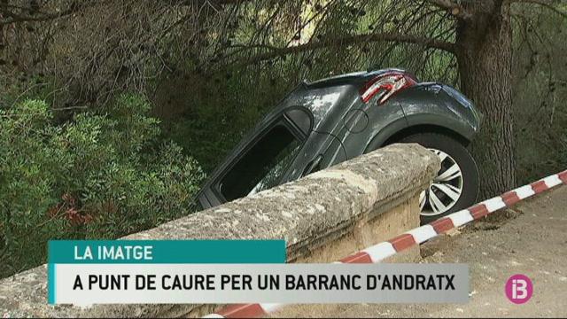 Un+cotxe+amb+tres+ocupants+ha+estat+a+punt+de+caure+per+un+barranc+al+cementiri+d%27Andratx