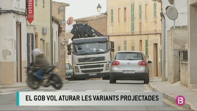 El+GOB+vol+aturar+les+variants+de+carretera+projectades+a+Mallorca