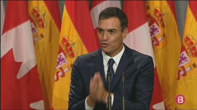 Pedro+S%C3%A1nchez+posa+el+Quebec+com+a+exemple+per+a+Catalunya