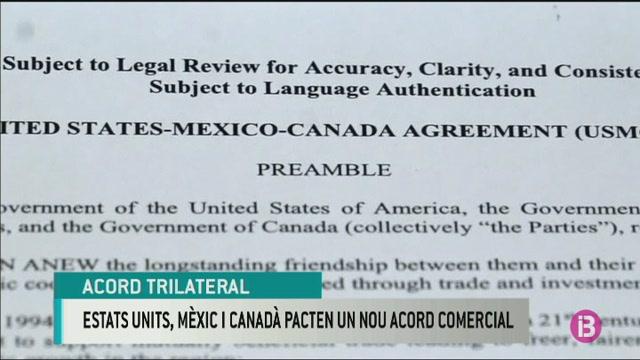 Els+Estats+Units%2C+M%C3%A8xic+i+el+Canad%C3%A0+pacten+un+nou+acord+comercial
