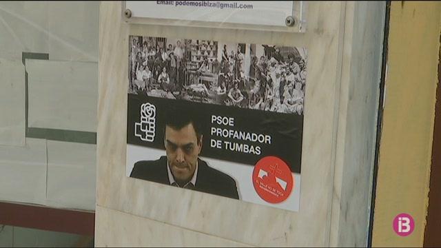 Apareixen+adhesius+franquistes+a+les+seus+de+Podem+i+del+PSOE+d%27Eivissa
