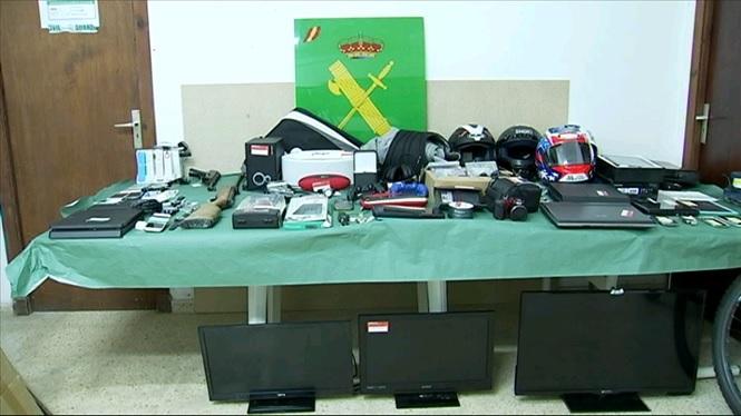 La+Gu%C3%A0rdia+Civil+exposa+fins+al+dia+22+els+objectes+confiscats+a+la+banda+de+lladres+del+Llevant+de+Mallorca