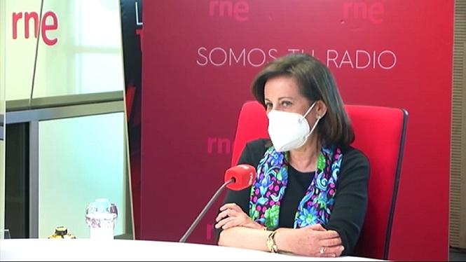 Margarita+Robles+afirma+que+no+acceptar%C3%A0+xantatges+del+Marroc