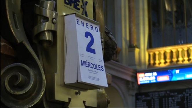 La+incertesa+global+continua+marcant+la+pauta+de+la+borsa+espanyola