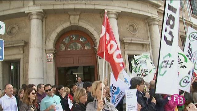 Els+funcionaris+de+Just%C3%ADcia+protesten+contra+la+reforma+de+la+llei+del+Poder+Judicial