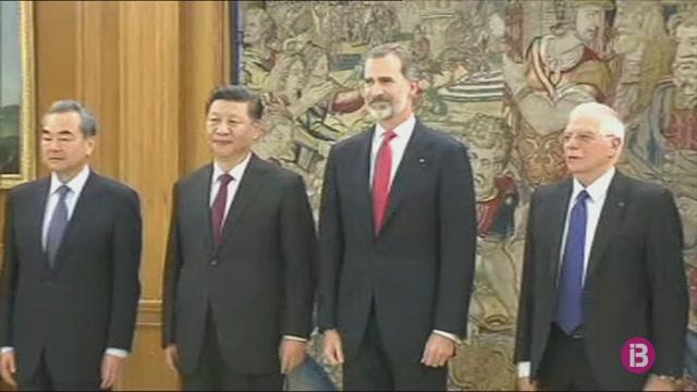 Primera+visita+a+Espanya+d%27un+president+xin%C3%A8s+en+13+anys