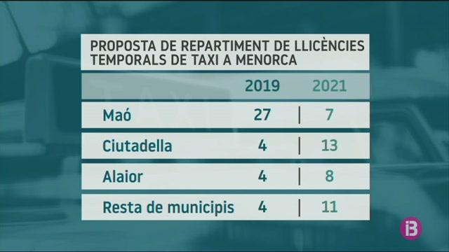El+repartiment+de+les+llic%C3%A8ncies+temporals+de+taxi+amena%C3%A7a+de+rompre+la+gesti%C3%B3+insular+del+servei+a+Menorca