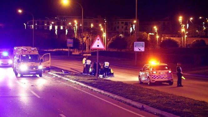 Mor+un+motorista+de+38+anys+en+un+accident+a+Palma