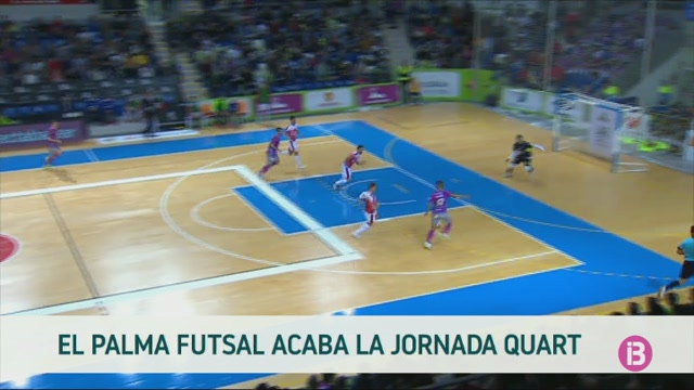 El+Palma+Futsal+acaba+la+jornada+quart