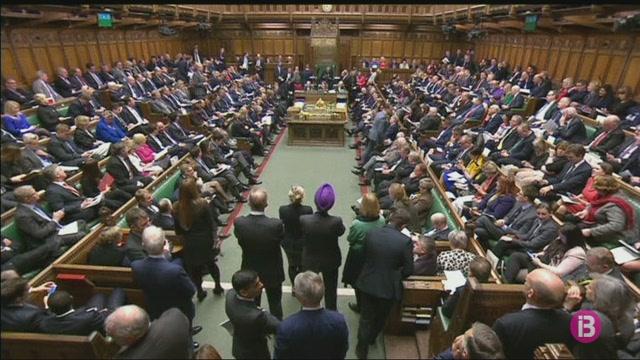El+Parlament+brit%C3%A0nic+repr%C3%A8n+el+debat+sobre+el+Brexit