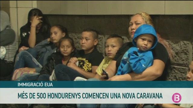 500+hondurenys+inicien+una+nova+caravana+de+migrants