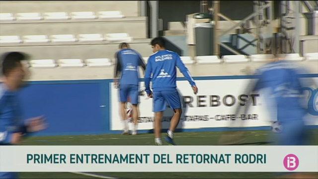 Primer+entrenament+de+Rodrigo+Cuenca+amb+l%27Atl%C3%A8tic+Balears