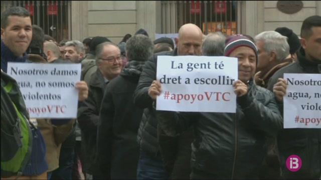 Els+VTC+protesten+a+Madrid+i+Barcelona