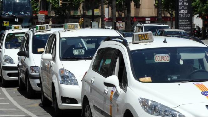 Cort+dona+llum+verda+a+instal%C2%B7lar+mampares+a+l%27interior+dels+taxis
