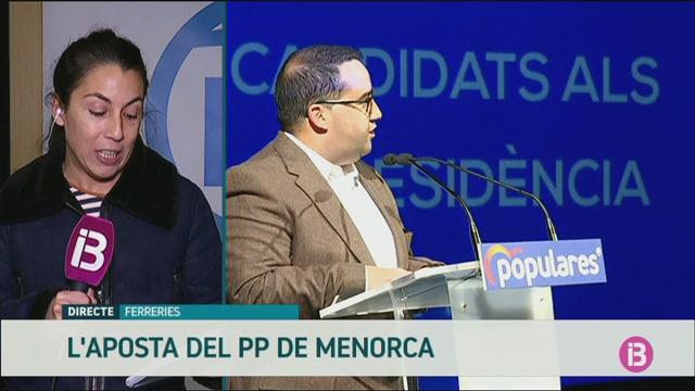 El+PP+presenta+el+seus+candidats+al+Consell+i+als+ajuntaments%2C+excepte+es+Mercadal