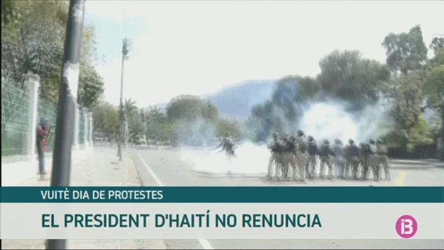 Vuit%C3%A8+dia+de+protestes+a+Hait%C3%AD