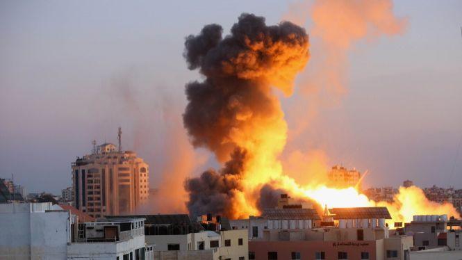 Israel+destrueix+les+oficines+de+mitjans+d%27informaci%C3%B3+internacionals+a+Gaza