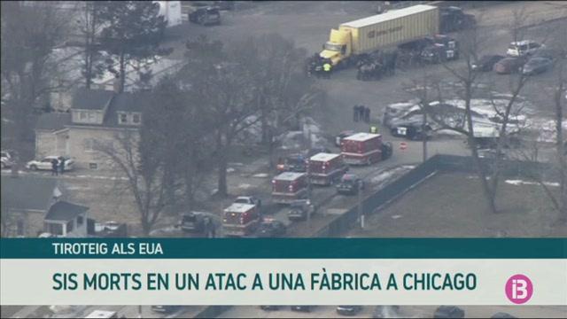 Sis+morts+en+un+tiroteig+en+una+f%C3%A0brica+a+Chicago