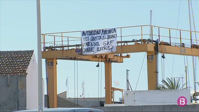 Els+treballadors+de+Formentera+Mar+protesten+contra+els+seus+acomiadaments