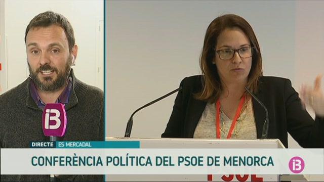 El+PSOE+Menorca+celebra+la+seva+confer%C3%A8ncia+pol%C3%ADtica+amb+crides+a+la+mobilitzaci%C3%B3+i+a+la+defensa+del+projecte