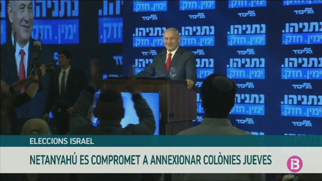 Netanyah%C3%BA+promet+annexionar+les+col%C3%B2nies+jueves+si+guanya+les+eleccions