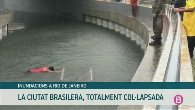 Greus+inundacions+a+Rio+de+Janeiro+per+les+pluges+torrencials